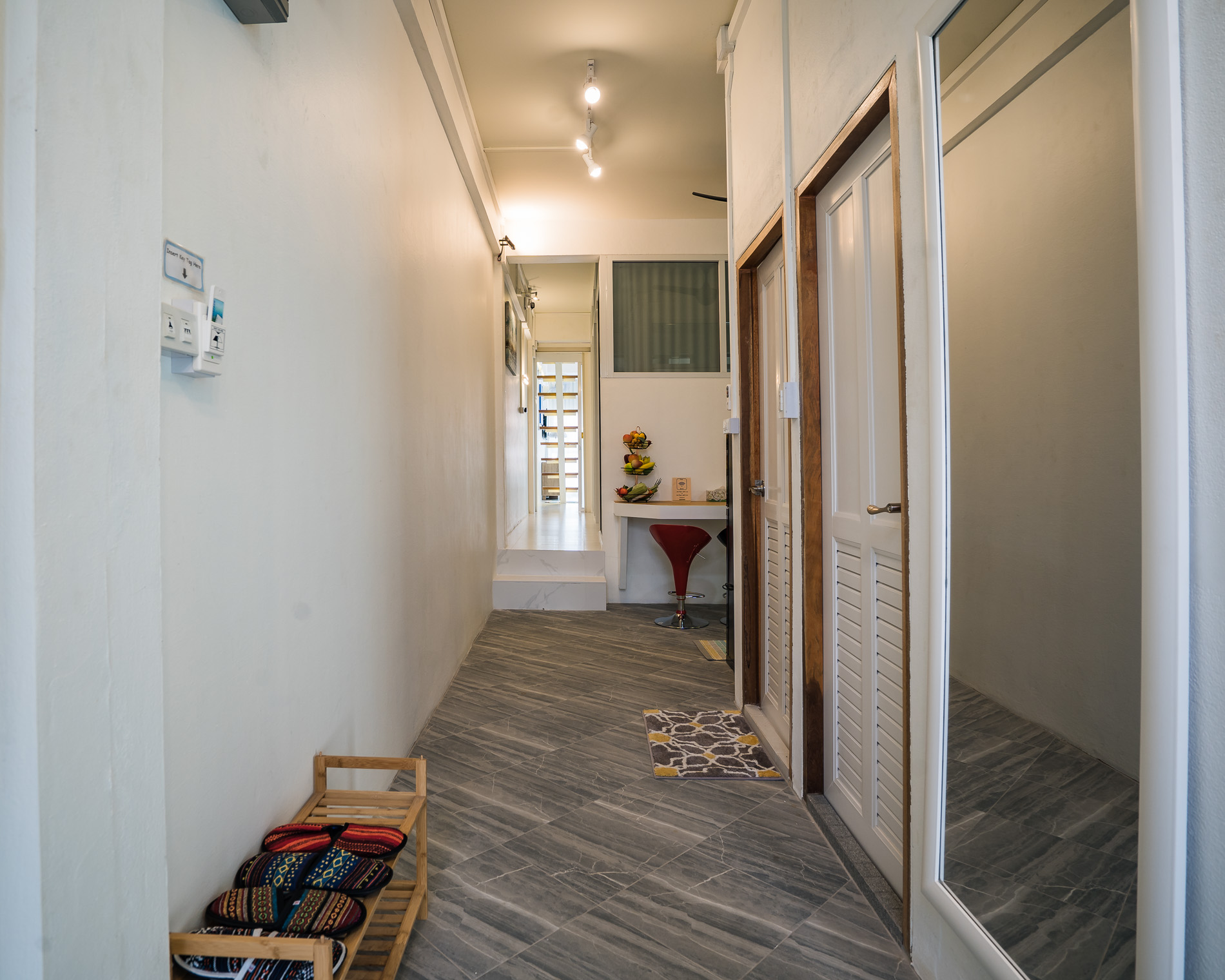Entrance - large family holiday apartment Chiang Mai